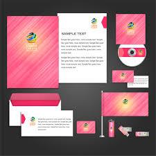 corporate identity templates free vector in adobe illustrator ai