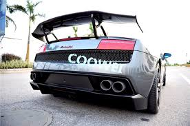 lamborghini gallardo rear gallardo lp550 lp560 lp570 carbon fiber rear gt wing for