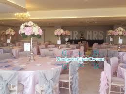 Pink Chair Covers Blush Pink Wedding Flowers Designer Chair Covers To Go