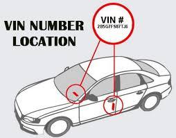 vin number decoder vehicle identification number