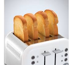 Morphy Richards Accents Toaster Review Buy Morphy Richards Accents 242032 4 Slice Toaster White Free