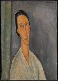modigliani woman with a fan madame zborowska amedeo modigliani 1918 tate