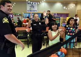 mentoring requires patients as police officers help kids tbo com