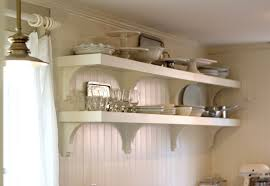 Diy Shabby Chic Kitchen by Emejing Open Kitchen Shelves Decorating Ideas Photos Home Design