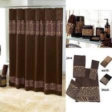 zebra print bathroom ideas better homes and gardens animal print bathroom collection bundle
