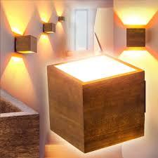 Deckenlampen F S Esszimmer Design Wandleuchte Schlaf Wohn Zimmer Lampe Flur Wand Leuchte Holz