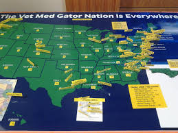 Map Of University Of Florida by Alumni Office Of Advancement College Of Veterinary Medicine
