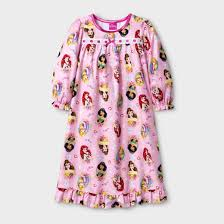 toddler disney princess sleeve nightgown pink target