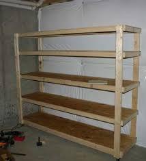 Build Wooden Storage Shelves Garage by Basement Shelf Garage Shelves Build Storage Shelves Wooden