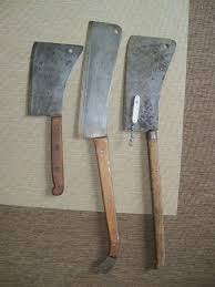 anybody out there a fan of vintage meat cleavers or lamb splitters