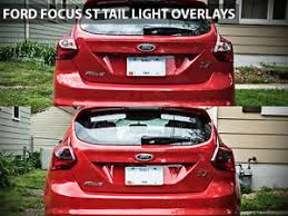 2014 ford focus tail light 2013 ford focus st focus tail light overlay 2014 focus blackout