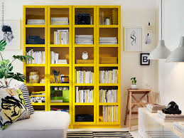 Ikea Billy Bookcases With Glass Doors by Bookcases Glass Doors Ikea Billy Bookcase Billy Bookcase Yellow