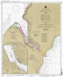 Map Of Green Bay Wisconsin by Sturgeon Bay Ship Canal Wikipedia