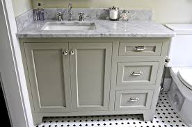 Bathroom With White Cabinets - grey and white bathroom vanities corner white 42 inch bathroom