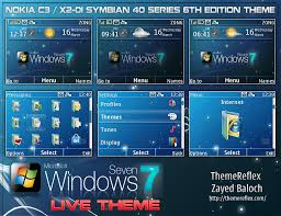 Live Themes Windows 7 | windows 7 live theme for nokia c3 x2 01 themereflex