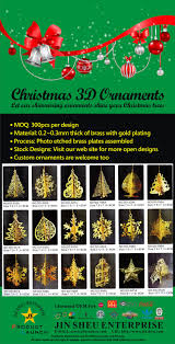 hanging ornaments promotional products supplier jin sheu