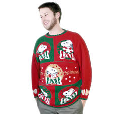snoopy christmas sweatshirt vintage 80s peanuts snoopy sparkle acrylic christmas sweater