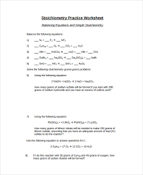 stoichiometry worksheet step by step instructonal chem 11 gas