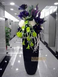 Floor Vase Flowers Large Artificial Flower Arrangements Open Travel