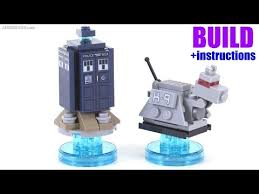 build a doctor build with me lego dimensions doctor who tardis k 9