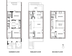 row house floor plan delson or sherman architects pcbrooklyn architect transforms