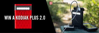Outdoor Tech Contest Win An Outdoor Tech Kodiak 2 0 Usb Waterproof Power Bank