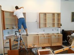 installation kitchen cabinets how to install and level lower cabinet youtube kitchen base cabinets