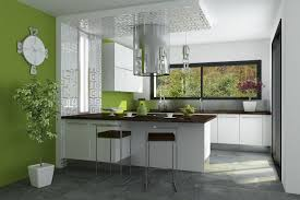 Decoration Interieur Cuisine by Indogate Com Idees De Traitement Fenetre Cuisine Moderne