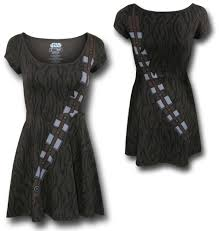 spirit halloween chewbacca star wars chewbacca skater dress