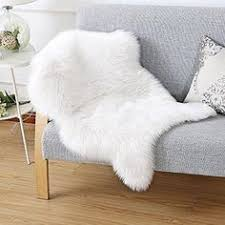 Safavieh Faux Sheepskin Rug Safavieh Faux Silky Sheepskin Fss235a Ivory Area Sh Https