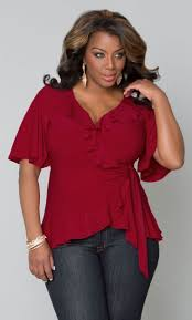 plus size blouses and tops plus size top whimsical wrap crimson clothes jewerly