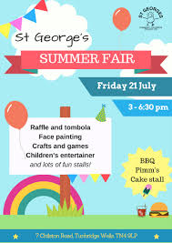st george u0027s summer fair friday 21 july kent charity awards