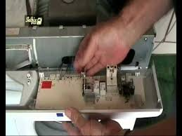 how to replace and program a hotpoint washing machine control