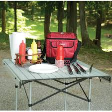 Camping Picnic Table Roll Up Table 32