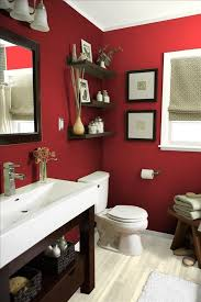 Painting Ideas For Bathroom Colors Best 25 Red Bathrooms Ideas On Pinterest Paint Ideas For