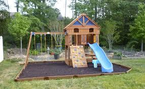 Backyard Cing Ideas For Adults Backyard Swing Ideas Home Design And Idea