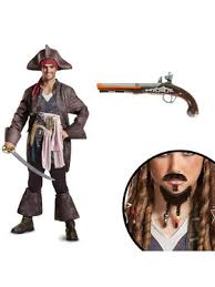 Captain Halloween Costume Pirates Caribbean Costumes Group U0026 Couples Costumes