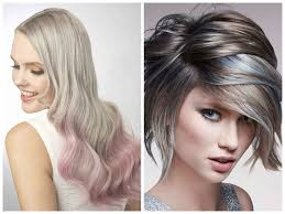 black low lights for grey blonde hair color ideas with lowlights color