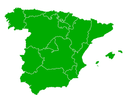 Spain Regions Map by Map Of Spain Guide Of The World