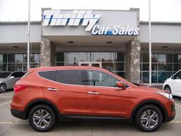 rent hyundai santa fe thrifty car sales mountain home buy used cars research
