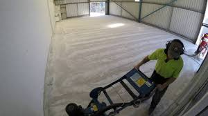 Concrete Epoxy Paint Concrete Floor Diamond Grind And Epoxy Coating Youtube