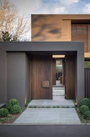 home entrance entrance door bay house in melbourne australia by urban angles