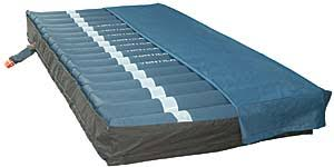 tradewind alternating pressure mattress with low air loss blue