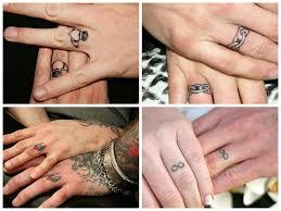 tattoo wedding rings designs