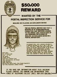 unabomber ted kaczynski wanted poster 2 painting by tony rubino