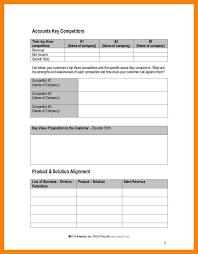 key account plan template eliolera com
