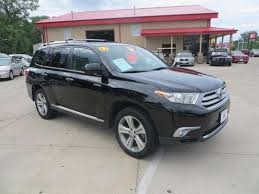 toyota 2011 awd 2011 toyota highlander awd limited 4dr suv in des moines ia