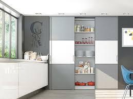 placard coulissant cuisine portes de placard coulissantes de cuisine sur mesure