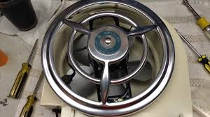nutone bathroom fan cover the 1950 s mercury by nutone bathroom fan youtube