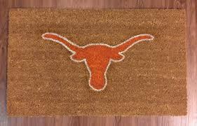 university of texas longhorns decorative doormat